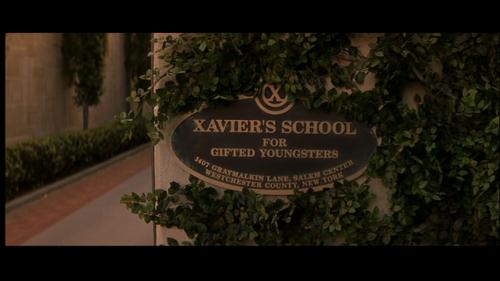 L'Institut Xavier pour jeunes surdoués.